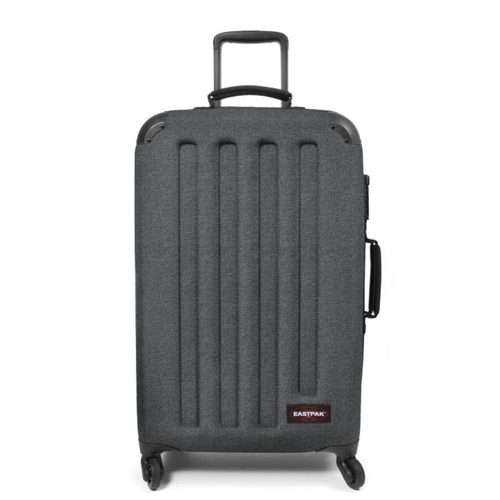 Tranzshell Suitcase - Medium; Black Denim