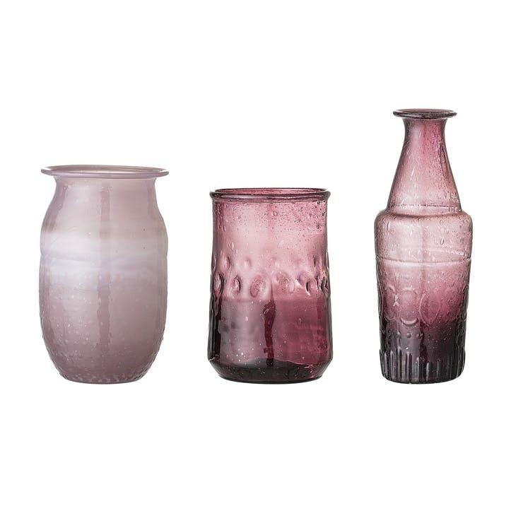 Vase Set, Purple