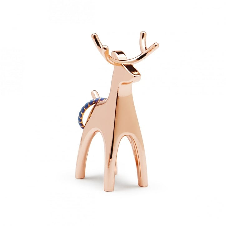 Anigram Reindeer Ring Holder, Copper