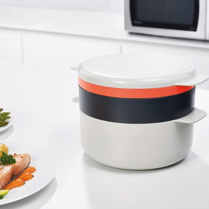M-Cuisine Microwave Stackable Cooking Set