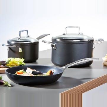 Toughened Non-Stick Sauté Pan With Lid - 26cm
