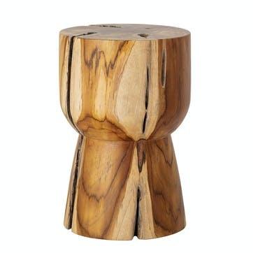 Gaia Side Table, Teak