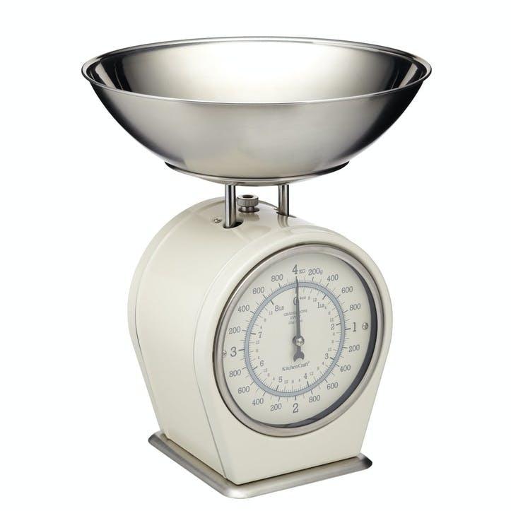 Living Nostalgia Mechanical Scales in Antique Cream
