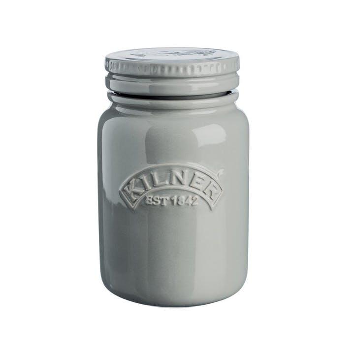 Ceramic Storage Jar, Morning Mist