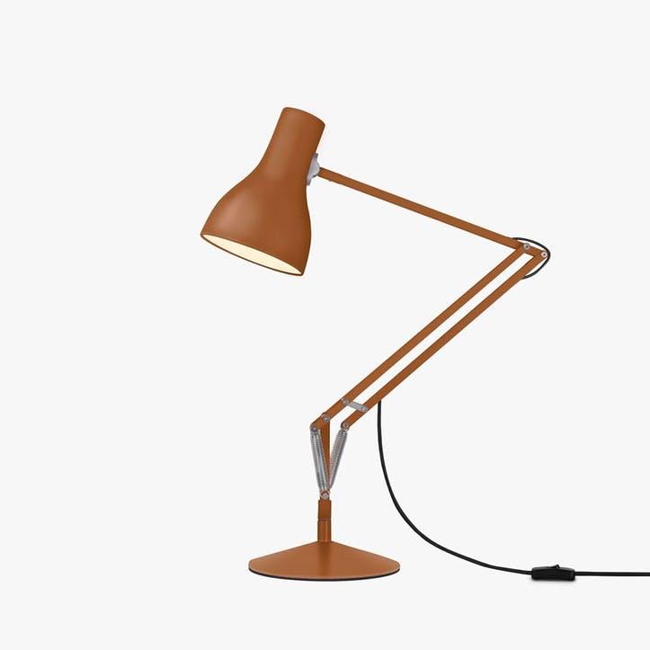 Type 75 Margaret Howell Desk Lamp, Sienna