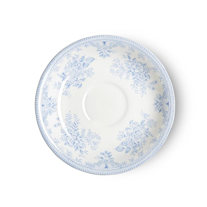 Asiatic Pheasants Tea Saucer, 16cm, Blue
