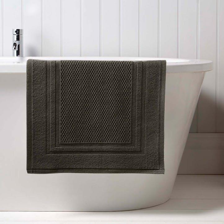 Fina Small Bath Mat, Soot