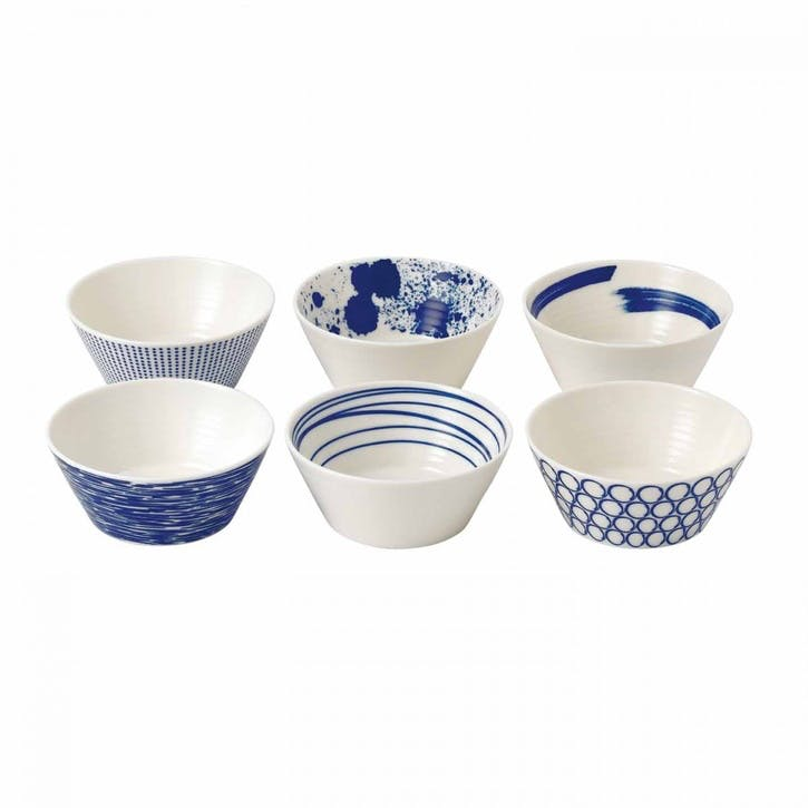 Pacific Nibble Bowls, Set of 6