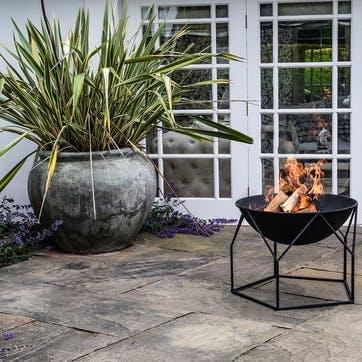 Buckingham, Outdoor Firebowl, Black