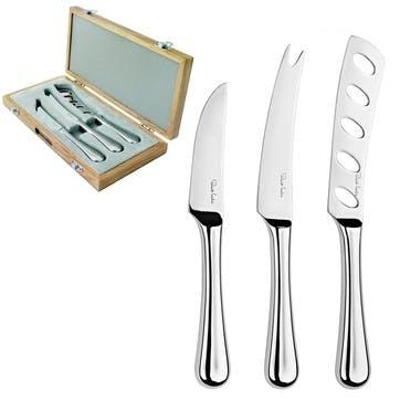 Robert Welch Cheese Knife Set, 3 Piece