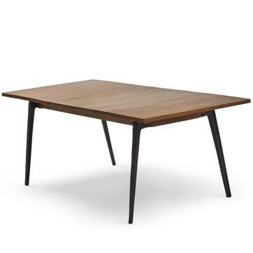 Lucien Extending Dining Table, Dark Mango Wood