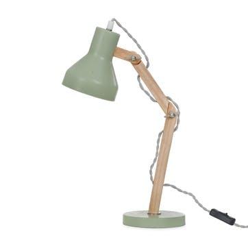 Folgate Desk Lamp, Sage