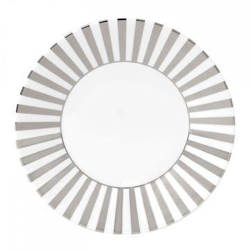 Platinum Salad Plate, Striped