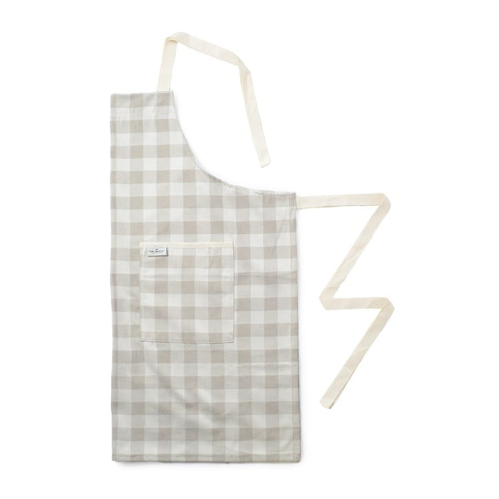 Woodhouse Check Apron; Fawn