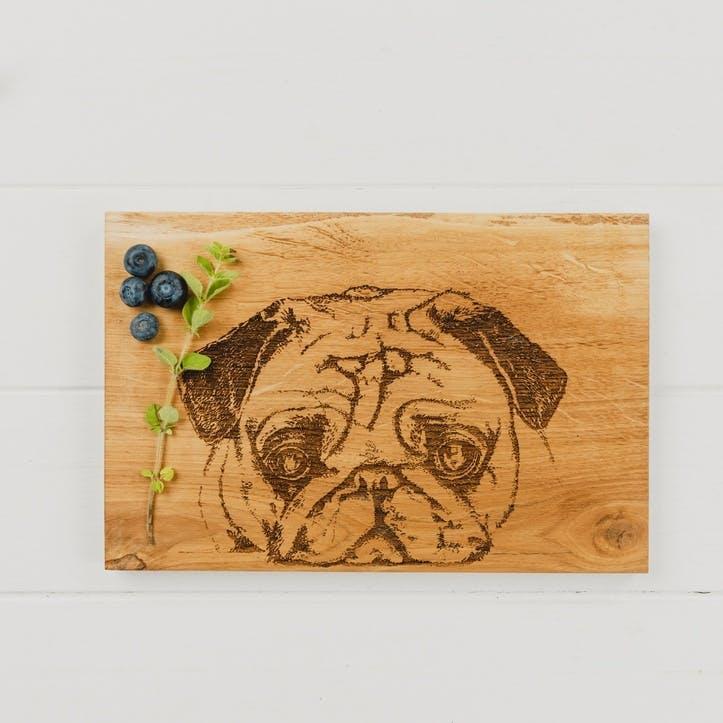 Pug Serving Board