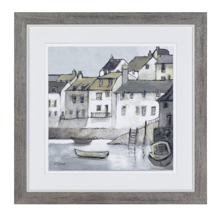 High Tide Framed Print - 46 x 46cm