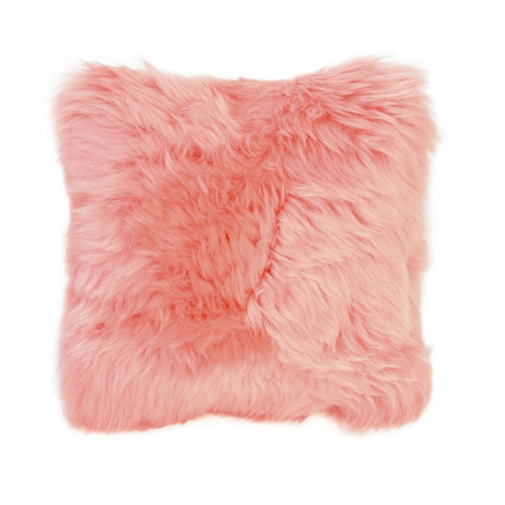 Baa Stool Square Cushion, 45cm x 45cm, Baby Pink