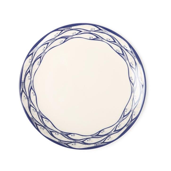 Sardine Run Side Plate, 20cm, Blue
