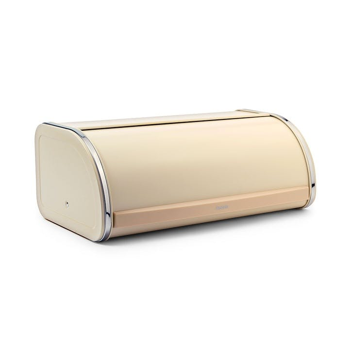 Roll Top Bread Bin, Almond