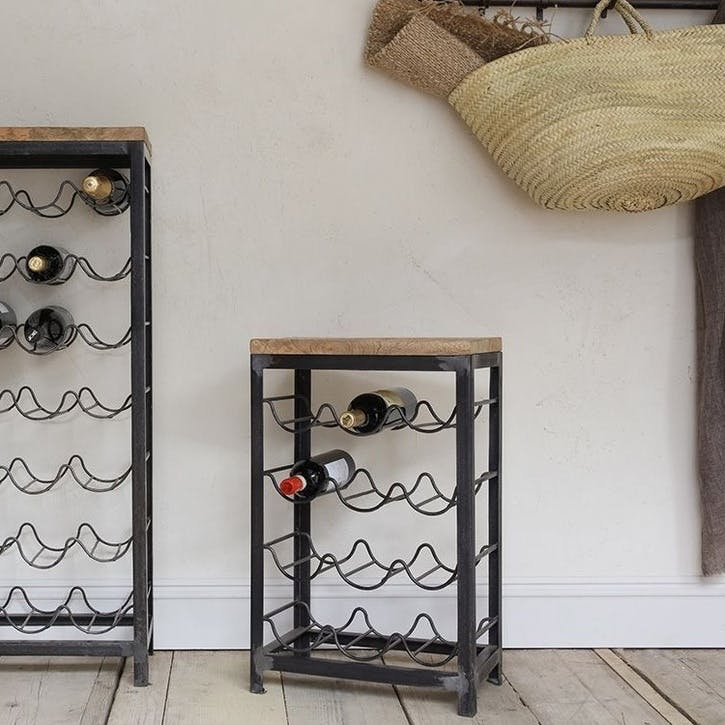 Obra Industrial Wine Rack - Small