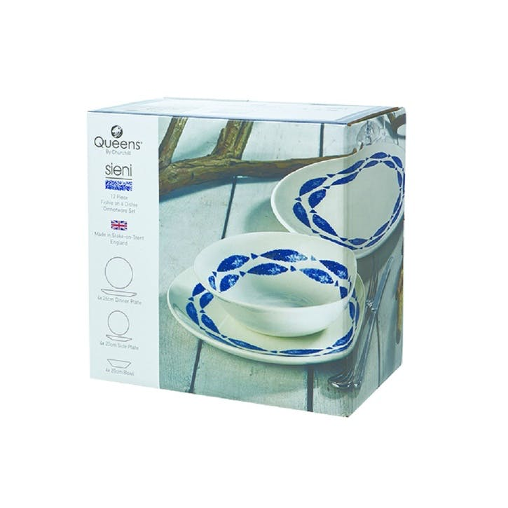Sieni Fishie On A Dishie Dinnerware, 12 Piece Set