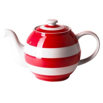 Small Betty Teapot, 18oz/50cl, Red