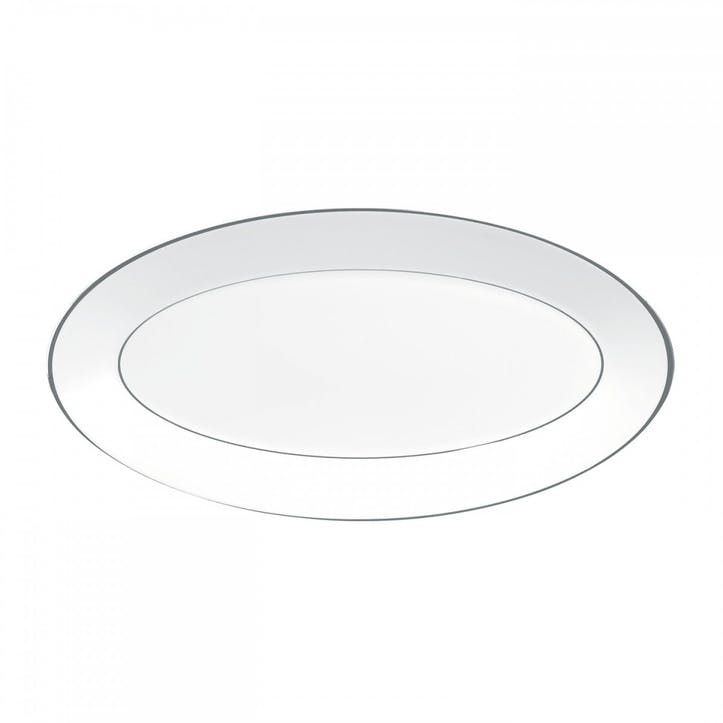 Platinum Oval Dish, Medium
