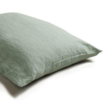 Pillowcase Pair, Sage