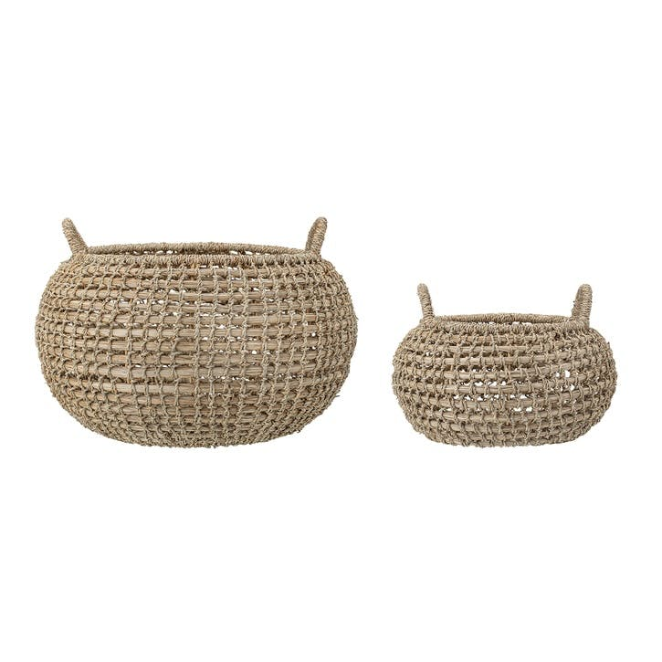 Seagrass Baskets, Set of 2