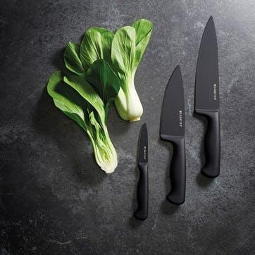 Chef Knife, 8inch, Black