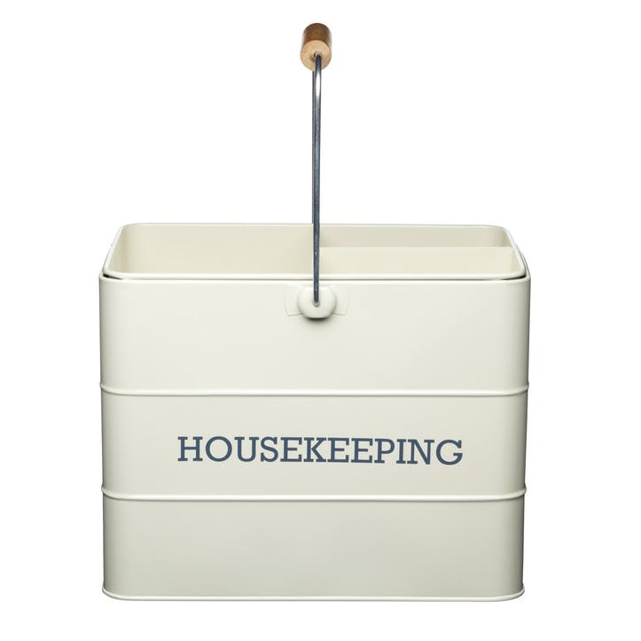 Living Nostalgia Housekeeping Box in Antique Cream