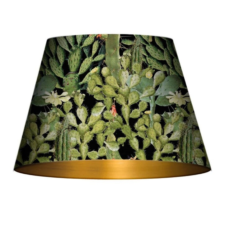 Opuntia Anthracite Cone Lampshade, Medium