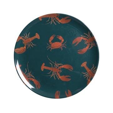 'Lobster' Melamine Side Plate