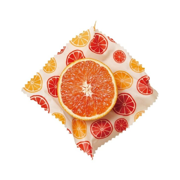 Citrus Beeswax Wrap, Set of 2