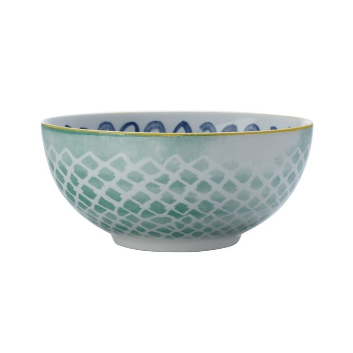 Laguna Tall Pasta Bowl, Blue