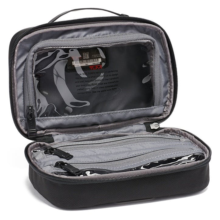 Tumi Alpha Split Travel Kit, Black
