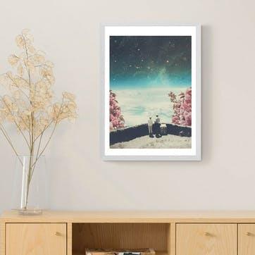 Frank Moth, Meet Again Framed Art Print