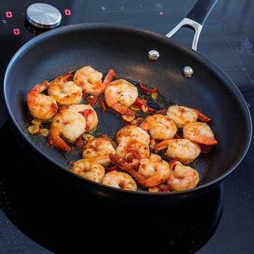 Momentum Hard Anodised Frying Pan, 30cm