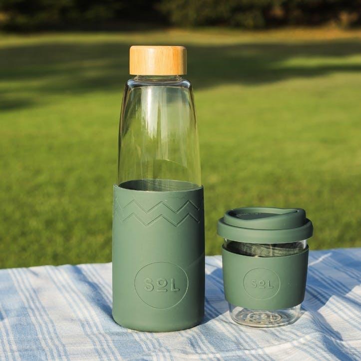 Water Bottle, Deep Sea Green