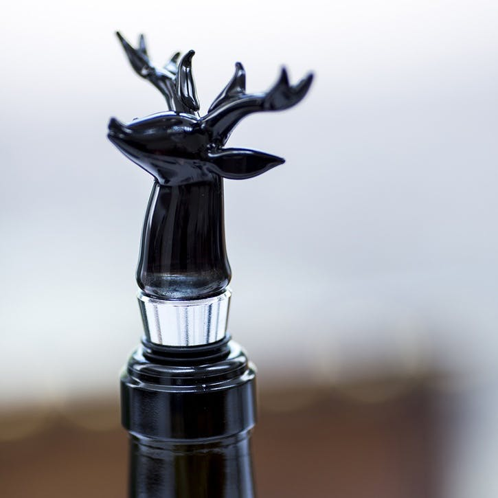 Stags Head Bottle Stopper