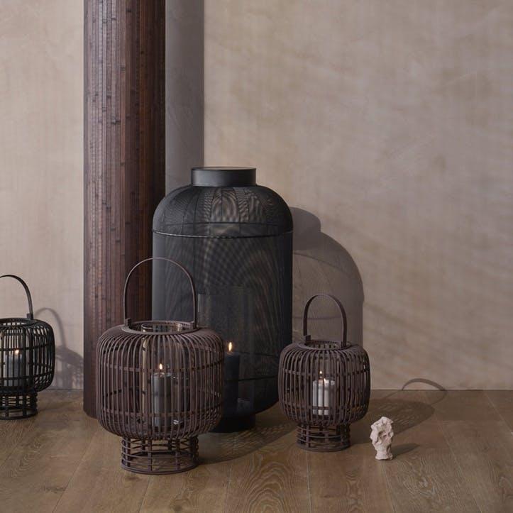 Goran Lantern, Large, Brown