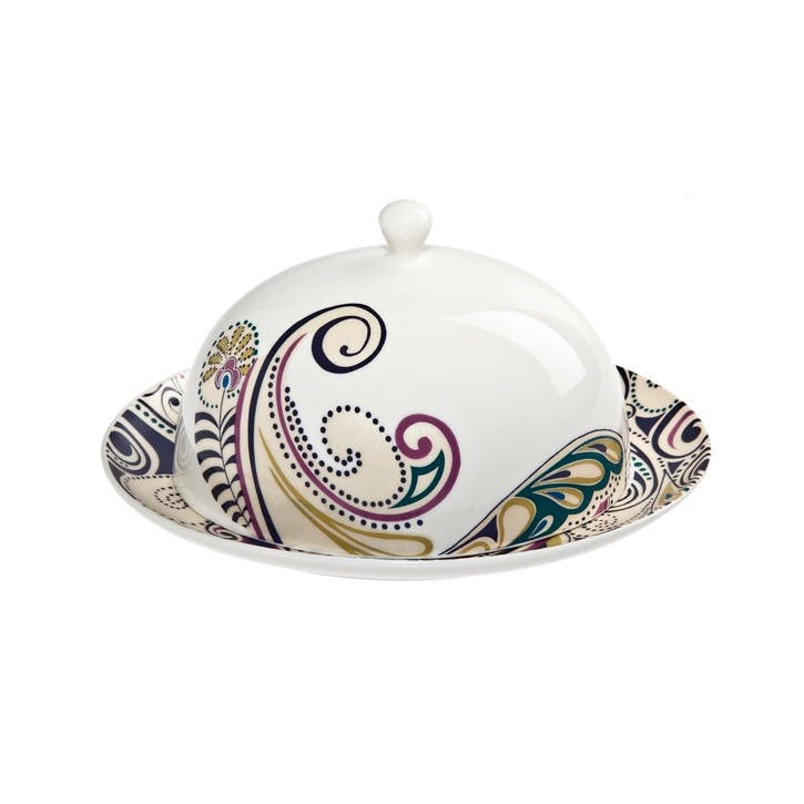Cosmic Butter Dish, 20cm