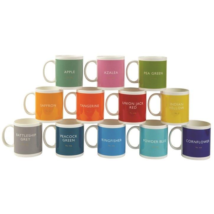 Mugs, Set of 12, 340ml, Multi
