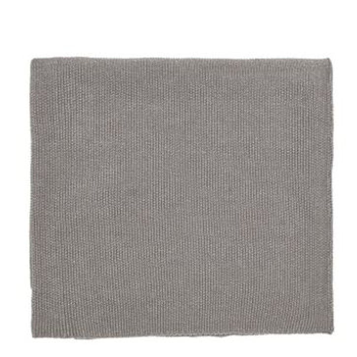 Dolce Knitted Throw, Silver
