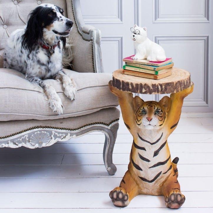 Animal Tyson Tiger Side Table