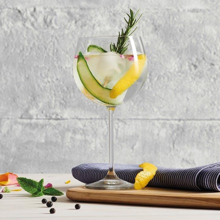 Set of 4 Classic Gin Glasses