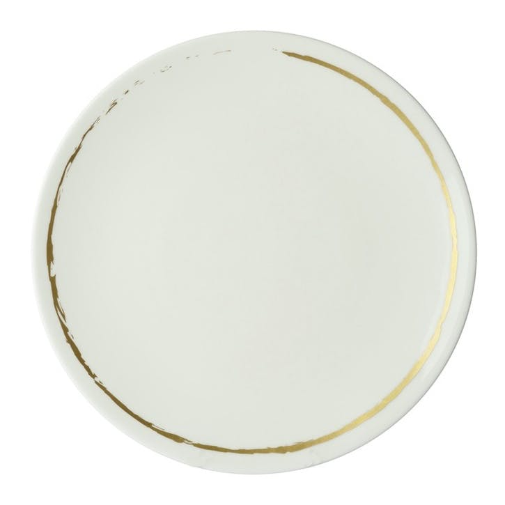 Sketch Chalk Coupe Dinner Plate - 27cm