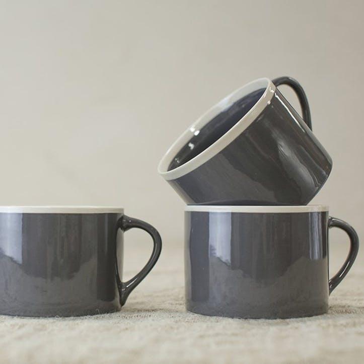 Datia Short Mug; Slate