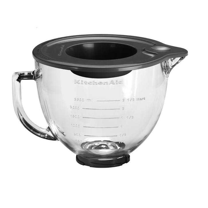 Artisan Stand Mixer with FREE Glass Mixing Bowl, 4.8L, Cast Iron Black