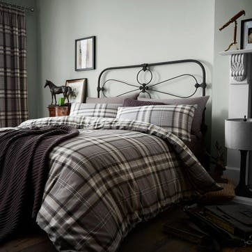 Kelso Bedding Set, Charcoal, Double